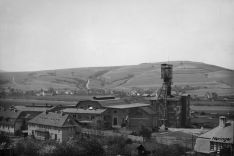 Historic picture of Potash mine in Heringen