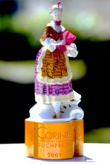 """Corine"" trophy of a book award (Reg.-Nr. 30157120)"