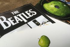 Foto von Beatles-CD-Cover