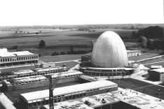 Das Atom-Ei in Garching, ca. 1958