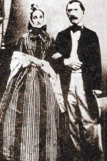 Historic picture of Jacob Christoph Rad annd his wife Juliane