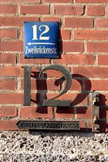 The house number of DPMA headquartes in Munich