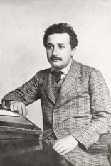 Albert Einstein during his time as patent examiner