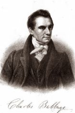 portrait of Charles Babbage