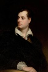 Lord George Gordon Byron, 1813 portrayed by Thomas Phillips