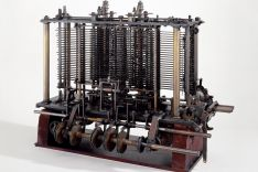 "Part of the unfinished ""Analytical Engine"" by Babbage"