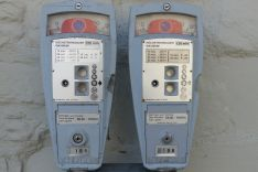 Kienzle parking meters in Switzerland