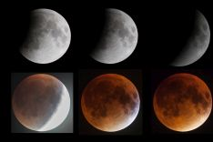 Phases of eclipse