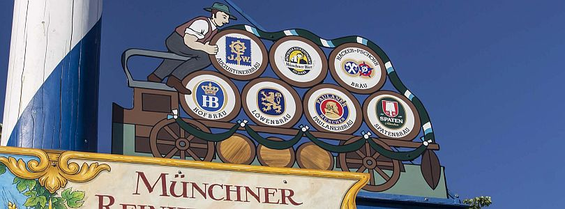Logos of all 6 Munich beers