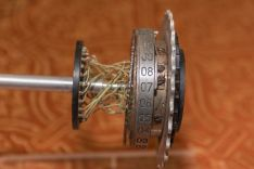 Foto of an Enigma rotor