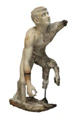 Statue of a wrestler from the Antikythera wreck