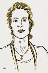 Drawing of Frances H. Arnold.