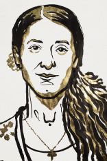 Drawing of Nadia Murad