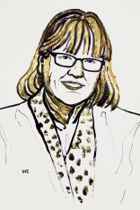 Drawing of Donna Strickland