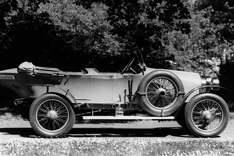 "Audi Typ C ""Alpensieger"" (Alpine Victor) with 3,5 litre,4 cylinder in-line-engine and 35 HP"
