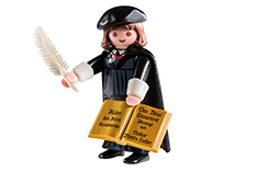 Luther Playmobil Figur