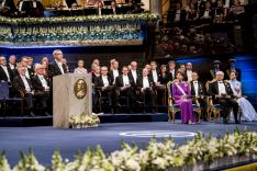 Nobel Prize ceremony 2017
